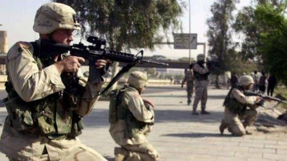 Iraqi troops targeting ISIS outside of Mosul