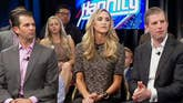 Eric and Lara Trump and Donald Trump Jr. speak out at a 'Hannity' town hall