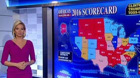 Which key states shifted in Fox News' electoral map that suggests troubling news for Donald Trump and his path to the White House? Fox News' Shannon Bream helps 'On the Record' take a closer look
