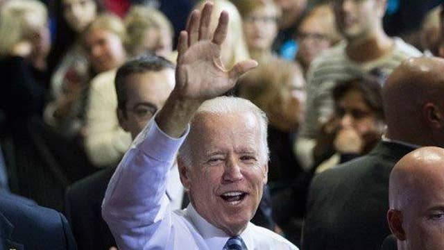 Biden says he wants to beat up Trump, press yawns