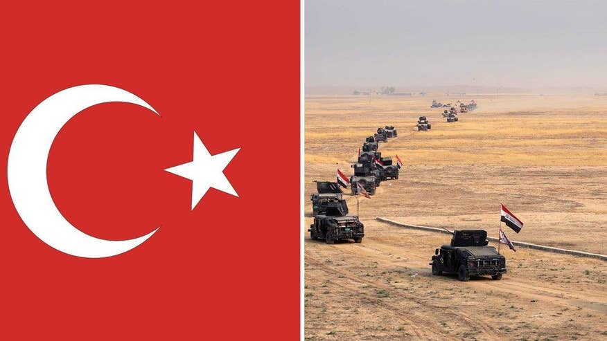 Turkey wants to exert influence amid fear that Iran's Shia-backed fighters will establish a foothold in the key Iraqi city; Lucas Tomlinson provides insight on 'Special Report'