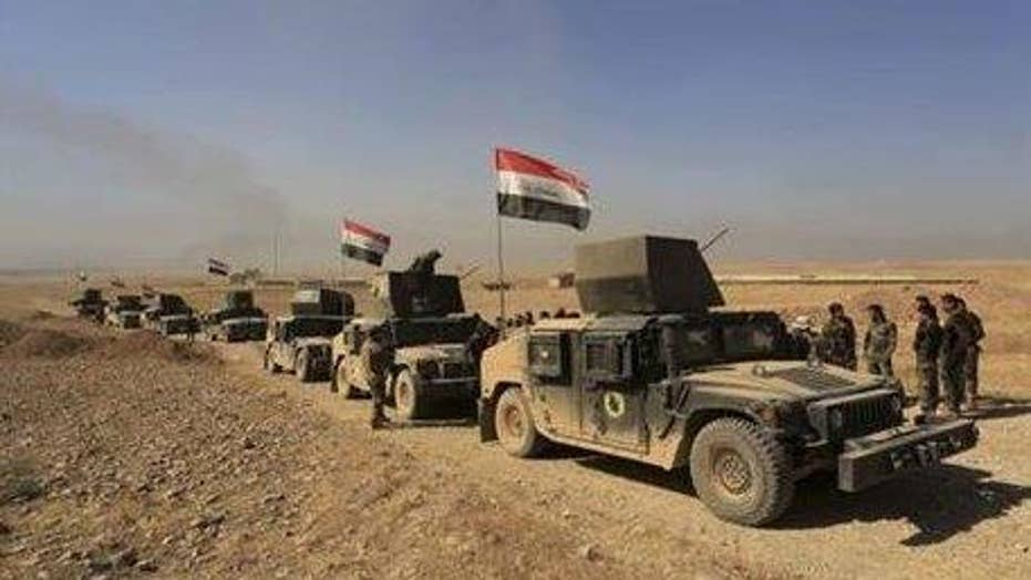 Pentagon: Solid progress in battle for Mosul