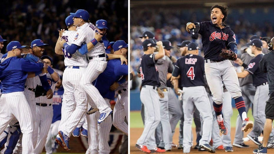 Chicago Cubs and Cleveland Indians face off in World Series