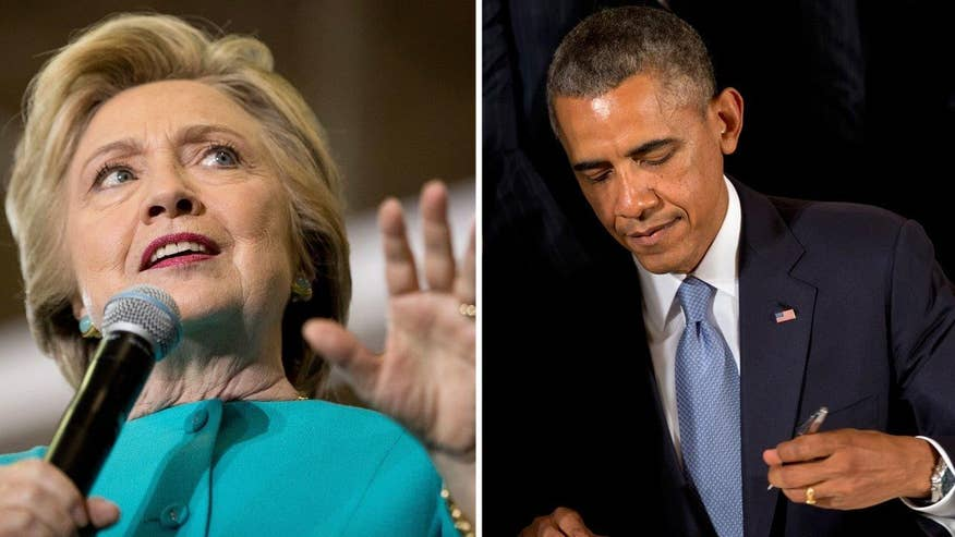 FBI records show Pres. Obama used pseudonyms in emails with Hillary Clinton. When showed email, aide Huma Abedin asked, 'How is this not classified?' Fox News' Catherine Herridge reports