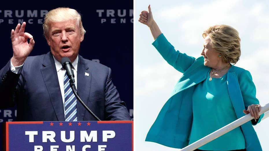 Fox News poll: Clinton leads Trump by 5 in head-to-head race