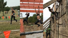 Join FoxNew.com's Emily DeCiccio on a muddy adventure through the Tough Mudder obstacles and more