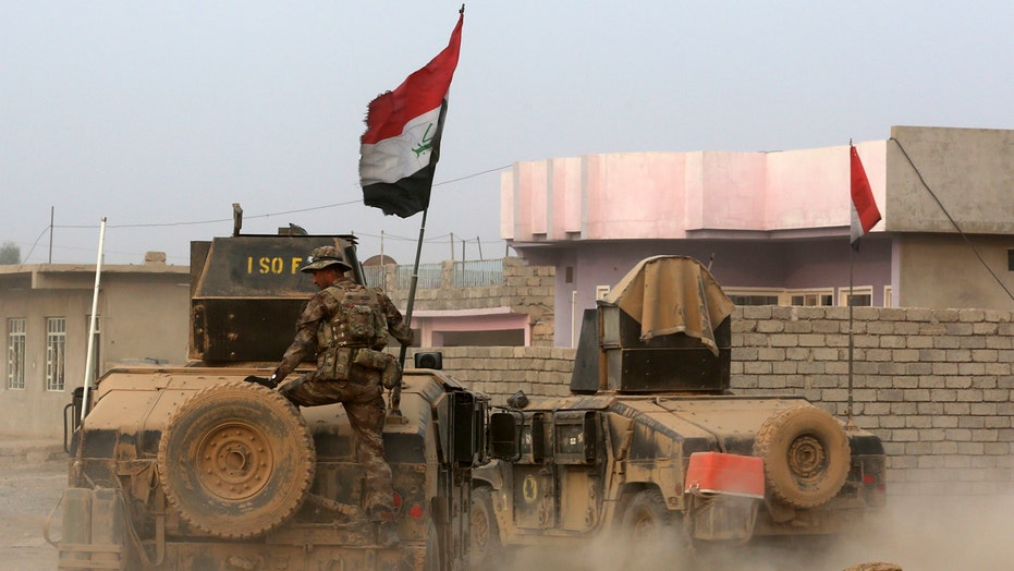 Iraqi forces close in on the main city of Mosul