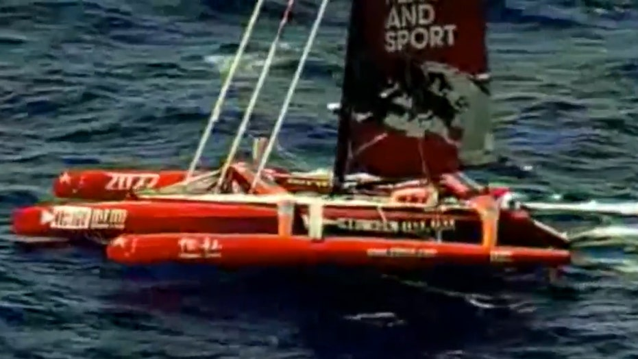 Coast Guard finds yacht of missing Chinese sailor