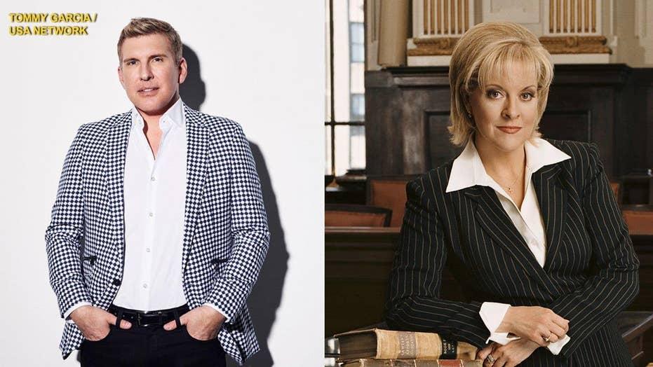 Todd Chrisley calls Nancy Grace a 'cow'