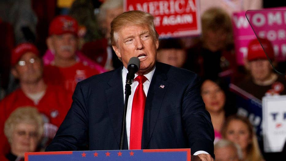 Trump continues to cast doubt on polls, the election process