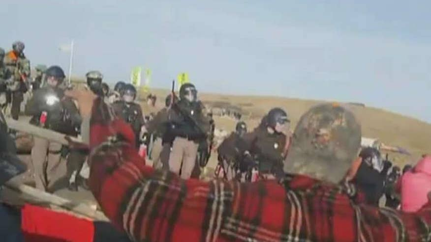 Environmentalists groups have been blocking pipeline construction