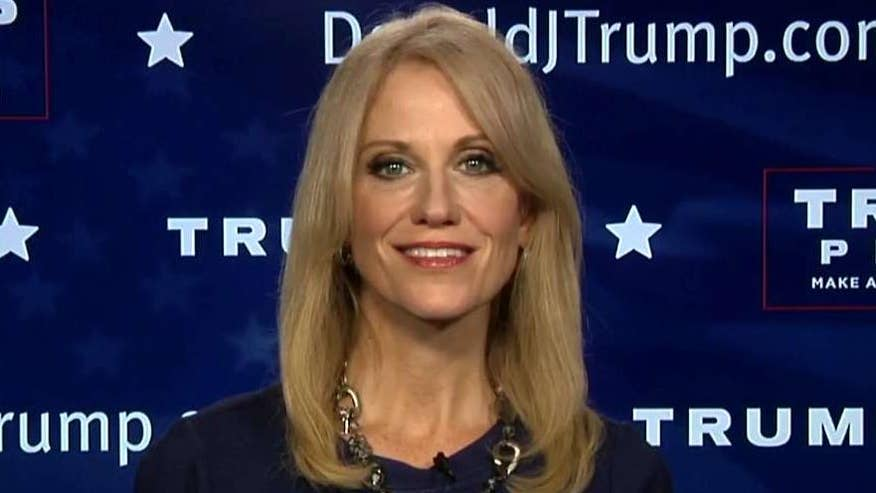 The polls are tightening. Donald Trump just wrote a $10M check to his campaign and Clinton is on the defense. Is the momentum shifting in favor of Donald Trump? Campaign manager Kellyanne Conway joins 'The Factor'.