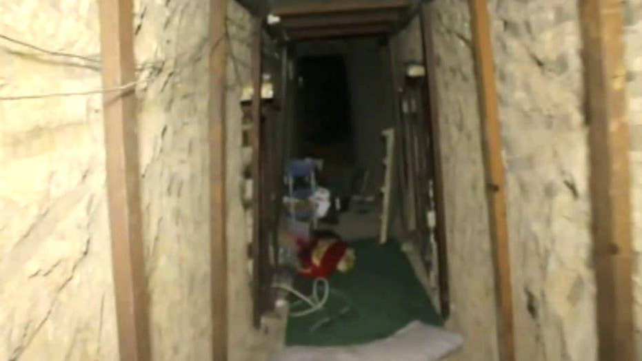 ISIS using underground tunnel network to avoid airstrikes