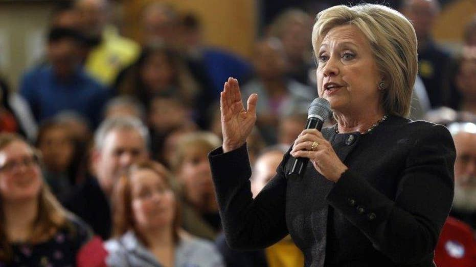 How are independent voters impacted by Clinton's FBI news?
