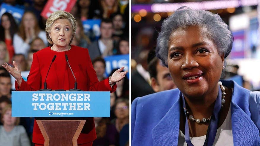 Another WikiLeak'ed email shows DNC boss and former CNN contributor Donna Brazile sharing a debate question in advance with Clinton campaign, despite her repeated denials and more revelations. Fox News' Ed Henry reports and The Hill's Joe Concha analyzes