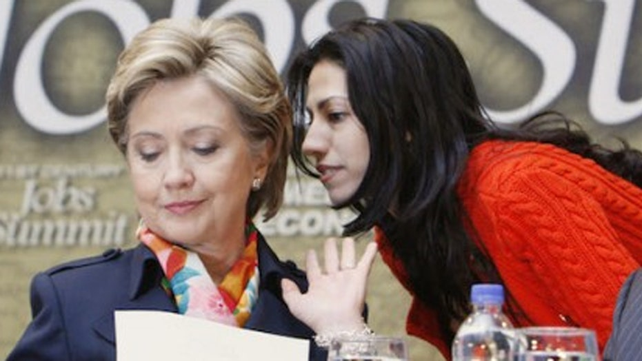 Top Clinton aide Huma Abedin laying low amid investigation