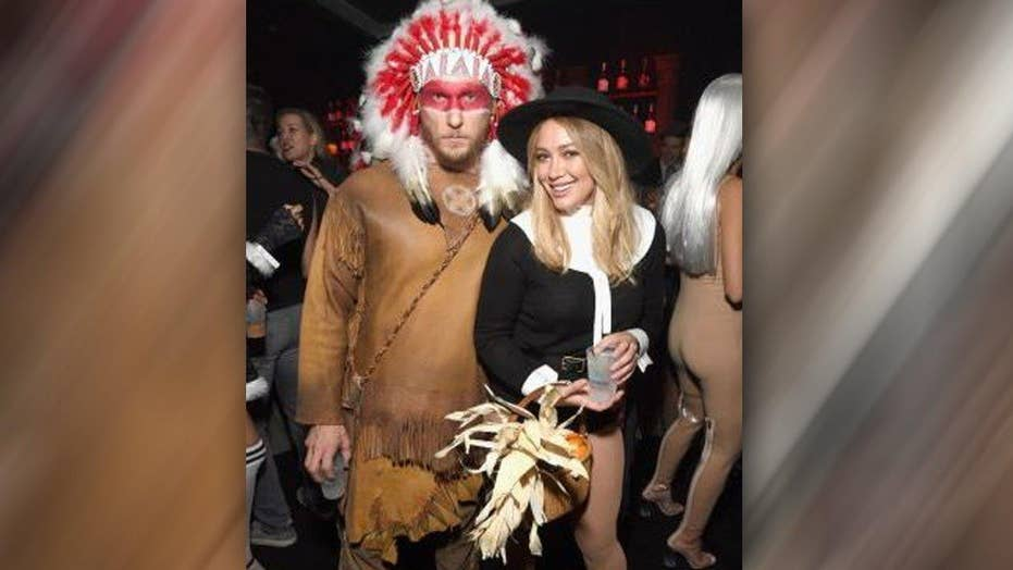 Hilary Duff apologizes for controversial Halloween costume