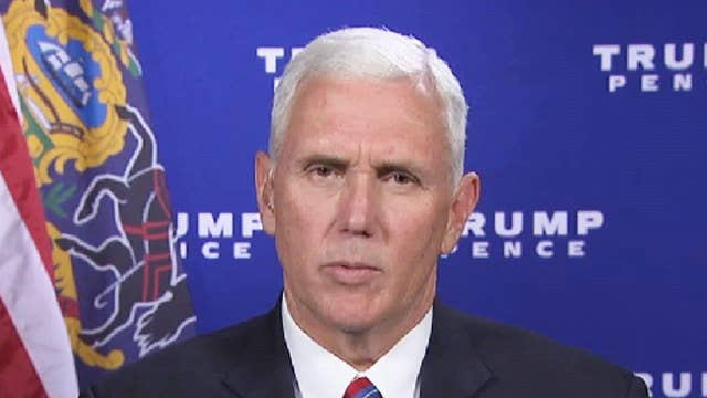 Mike pence clinton s actions corrupt on air videos fox news