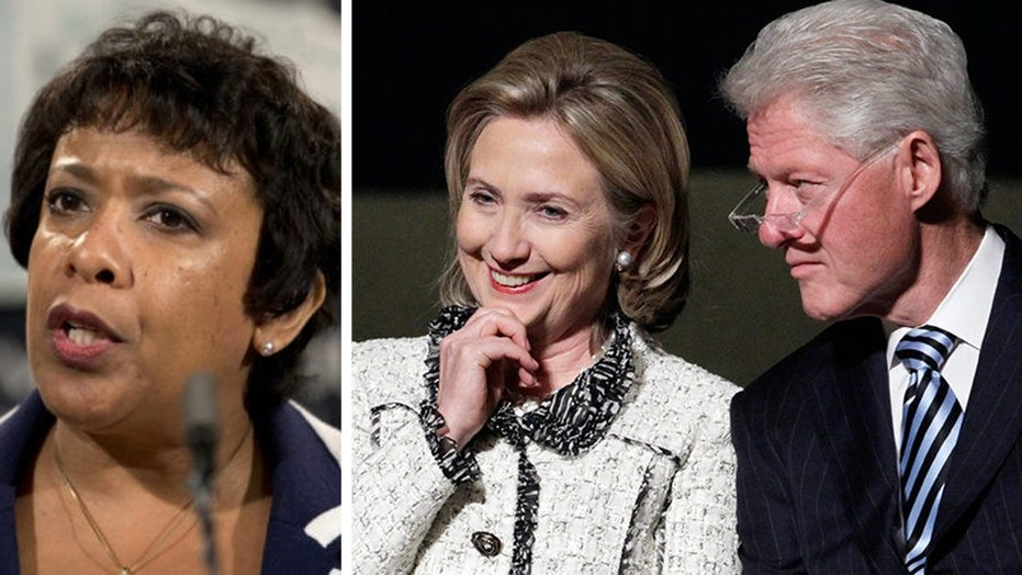 Is Obama's Department of Justice covering for the Clintons?