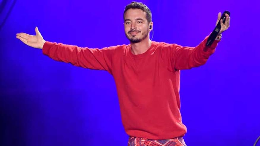 Reggaeton star J Balvin has a record out with Pharrell Williams climbing the charts and, possibly, another Latin Grammy on the way.