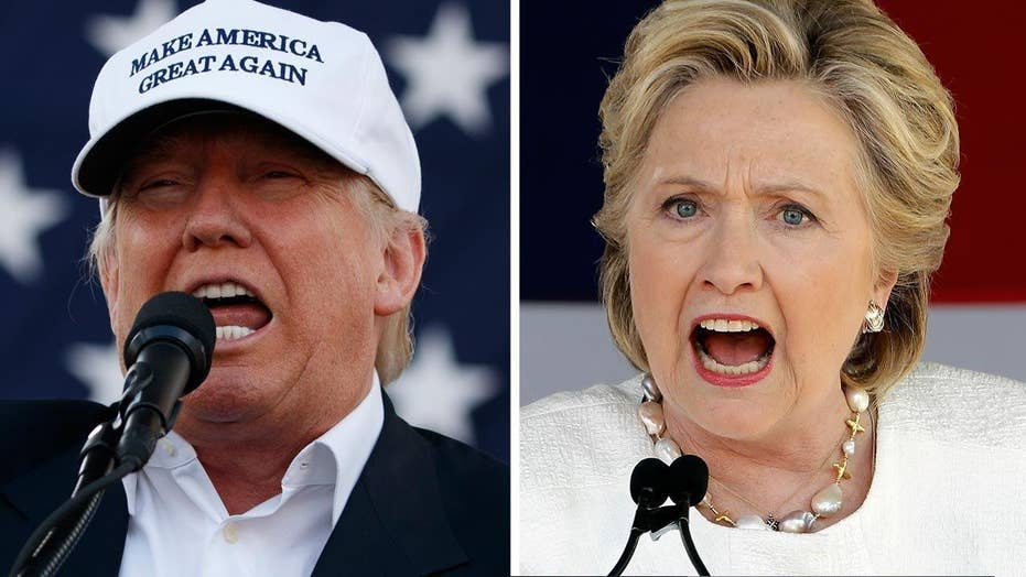 Going negative: Trump, Clinton make final appeals to voters