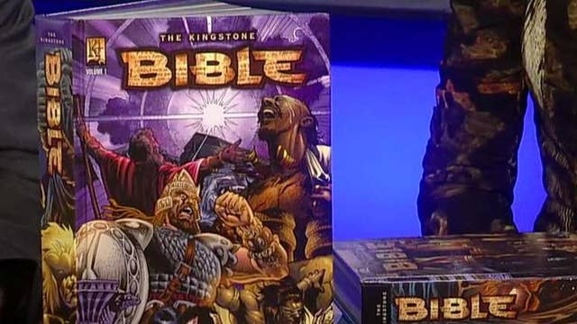 The Bible adapted as a graphic novel