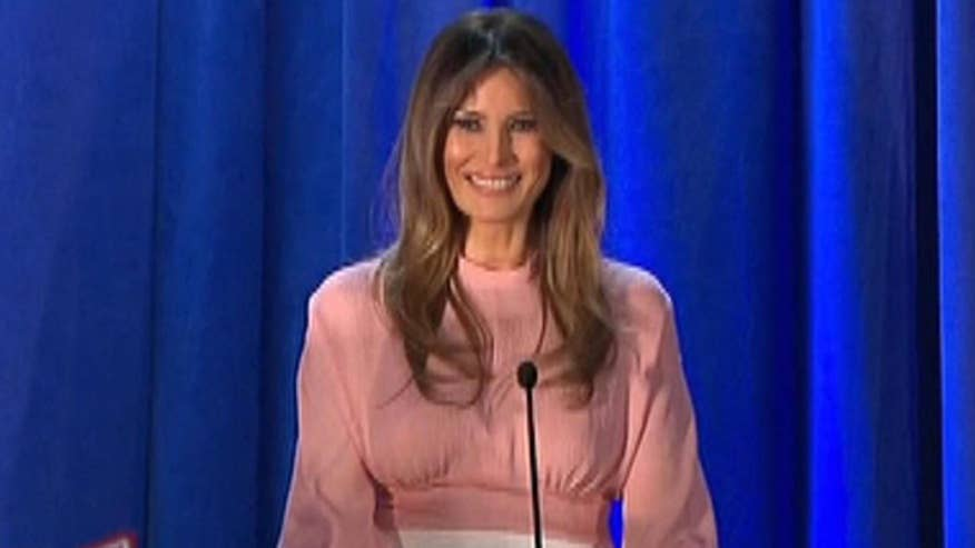 Melania lays out her agenda as potential first lady
