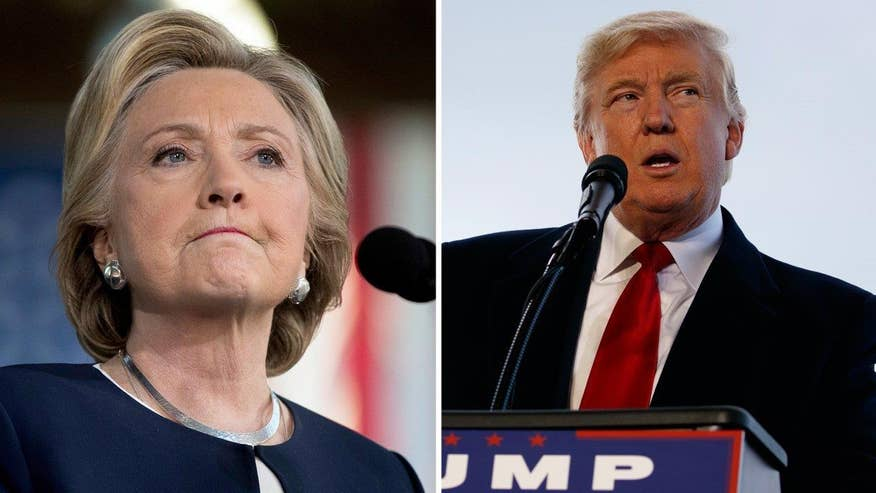 Hillary Clinton has a 2-point edge over Donald Trump with less than a week before the election - a lead that become less without third party candidates, according to a national Fox News poll