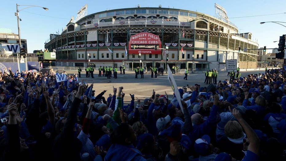 Cubs celebrate World Series win with parade