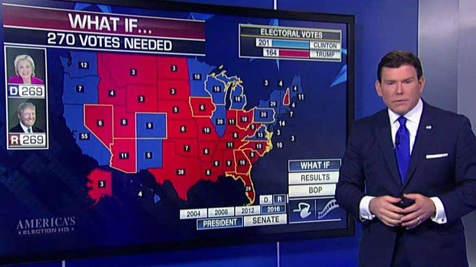 Fox News poll: Clinton's lead over Trump has dwindled