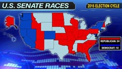 The race for Senate control is expected to be close. It may just hinge on a seat or two either way.