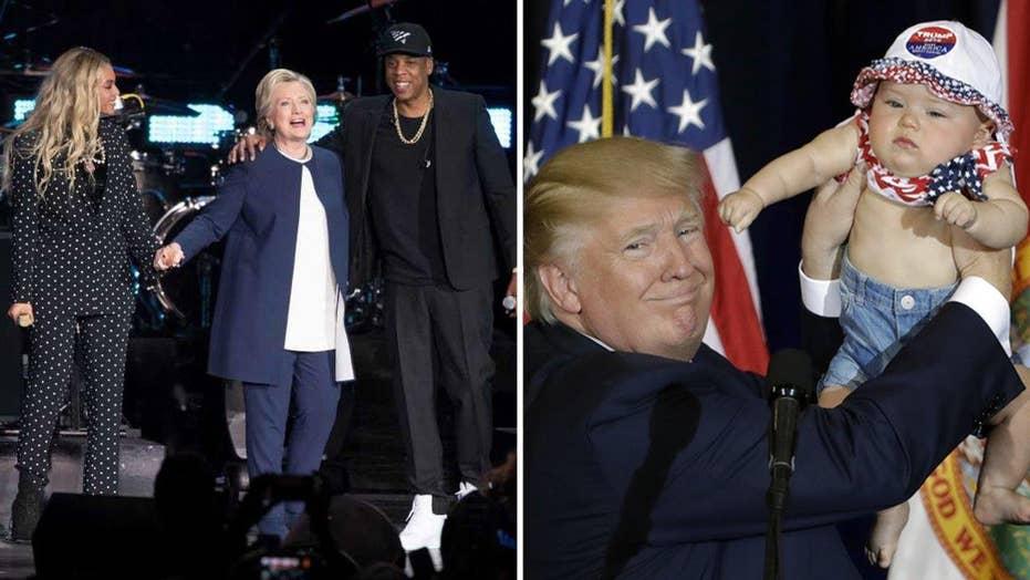 Clinton and Trump make final push to win battleground states