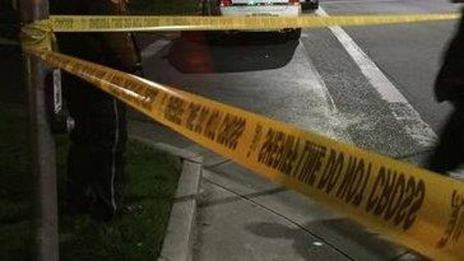 Topeka, Kansas officer shot twice pursuing robbery suspect