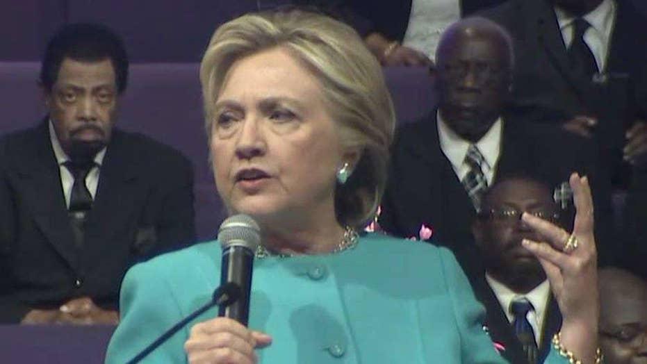 Clinton team responds to Comey's investigation decision