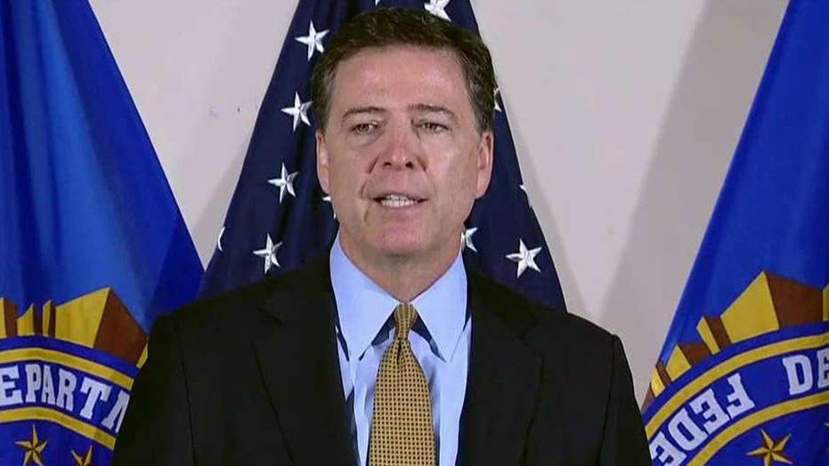 Comey stands by July Clinton decision days before election