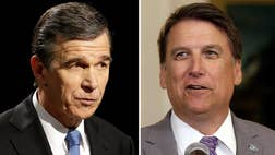 Poll margins are too close for comfort in the swing state of North Carolina, forcing candidates in several races to campaign into the th hour for support in the coveted battleground.