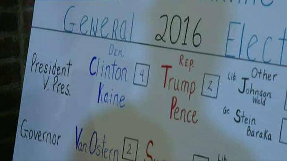 Hillary Clinton wins Dixville Notch, New Hampshire