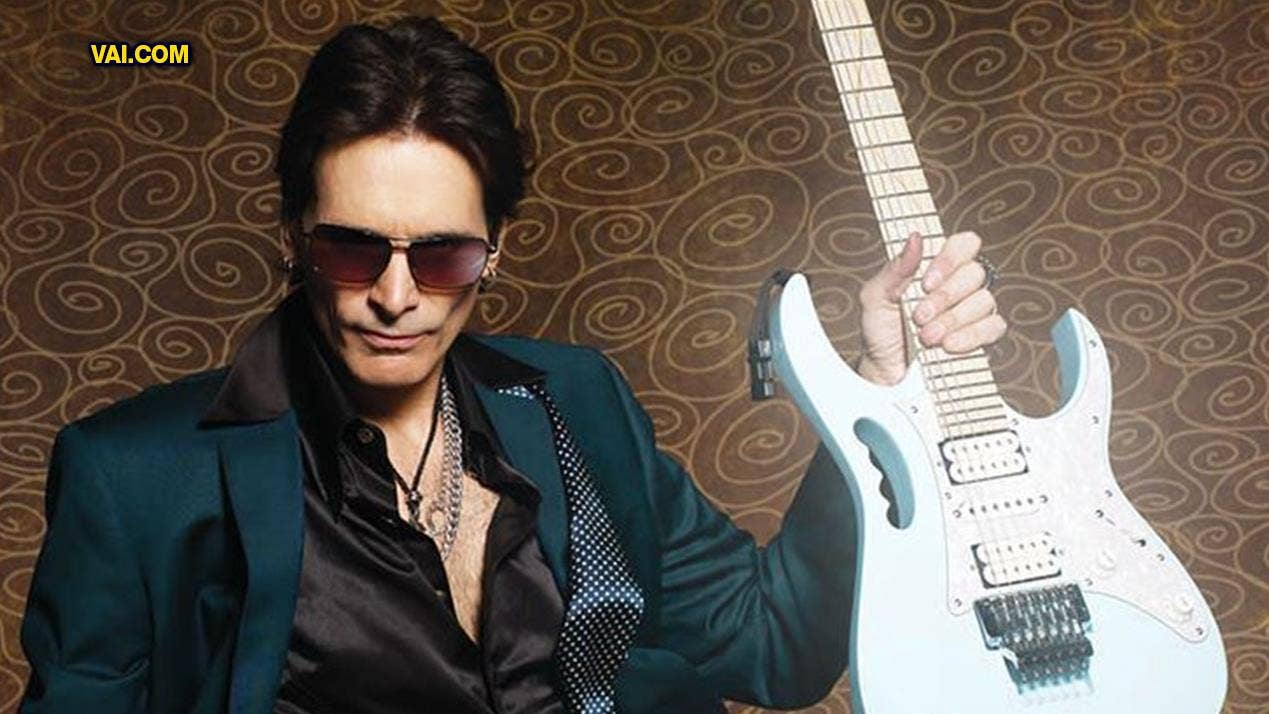Steve Vai defends his 'guitar face': 'It's entertaining, it's interesting, it's engaged'