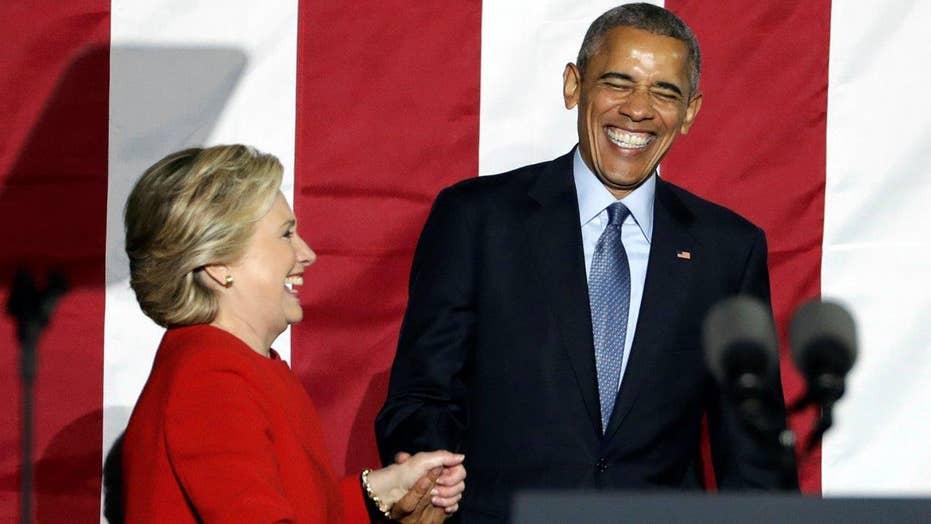 Obama makes final push for Clinton at Philadelphia rally