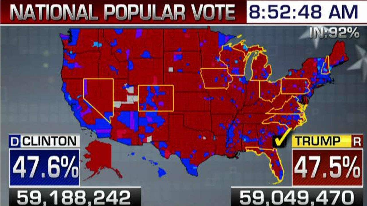 US election 2016 Trump victory in maps BBC News - induced.info