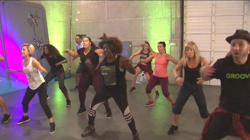 A funk dance and fitness class in Los Angeles is getting people who like to dance to break a sweat and drop some pounds too
