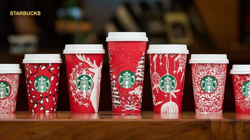 Features & Faces: The coffee chain is ditching the plain red cups that sparked serious backlash last year
