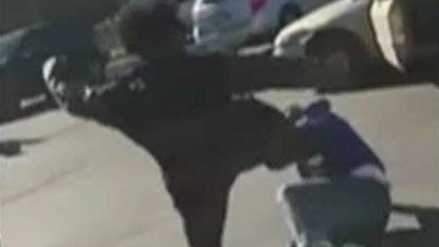 Mob attacks Trump voter in Chicago