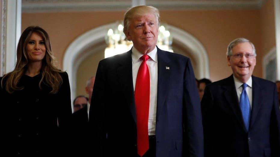 President-elect Trump outlines top priorities