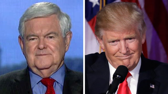 Newt Gingrich on Trump's campaign win, possible Cabinet role