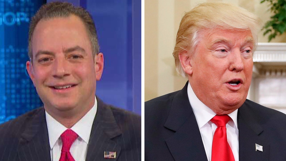 Reince Priebus named as Trump's White House Chief of Staff