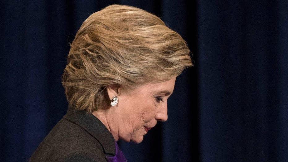 Clinton camp blames the media