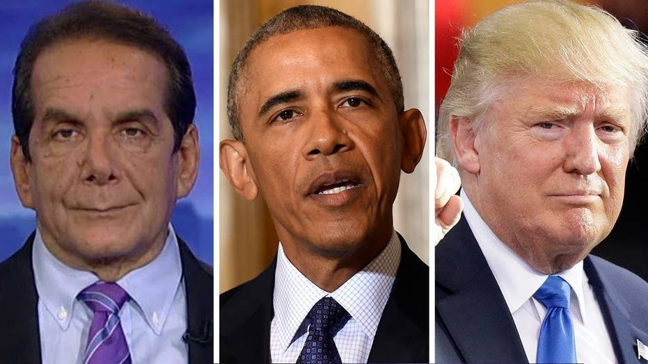 Krauthammer on the White House transition