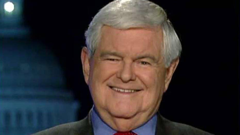 Newt Gingrich blasts critics of Trump's White House staff