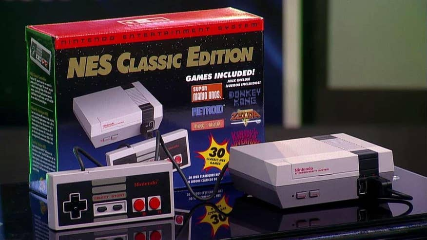 Fox Gamer: Nintendo of America's PJ Sadler and Joel Taveras with a hands-on look at Nintendo's ultimate retro gaming experience, the NES Classic Edition